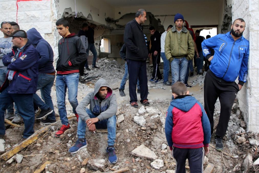 الاحتلال يهدم منزل الشهيد نعالوة