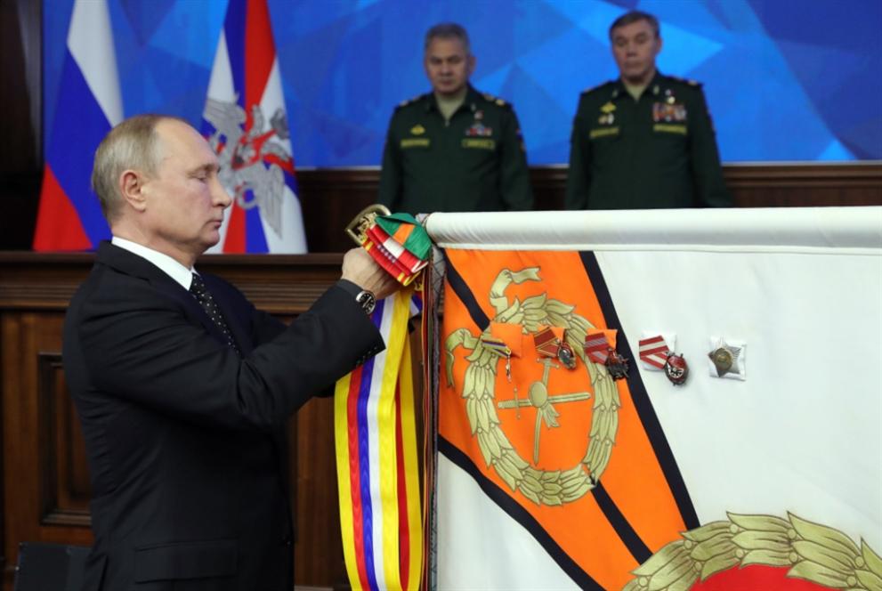 بوتين يحذّر من انهيار المعاهدة النووية: إنتاج «الصواريخ البرّية» ليس صعباً!