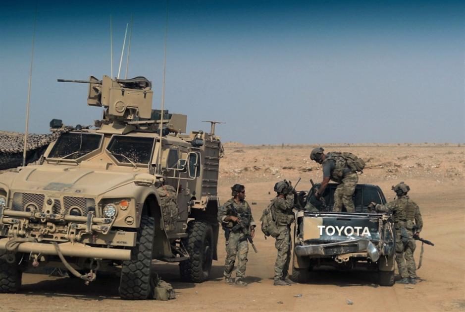 الانسحاب الأميركي يثير ارتياباً: دفاعات «الحشد»  في أعلى مستوياتها