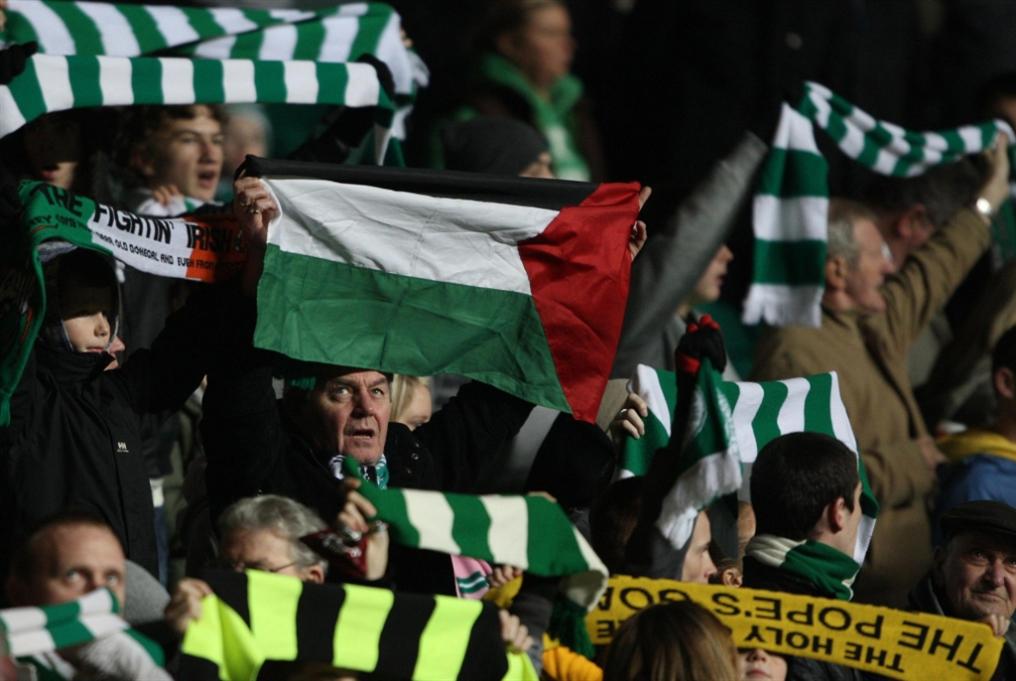 المعاناة تقرّب جماهير اسكتلندا من فلسطين