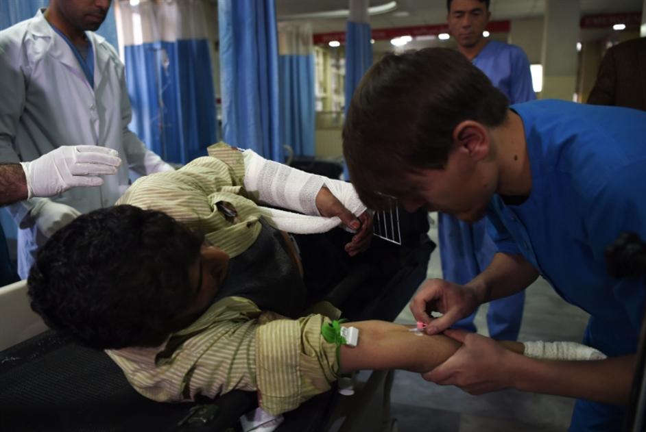 مجمع حكومي ساحة حرب لساعات: عشرات الضحايا في هجوم كابول