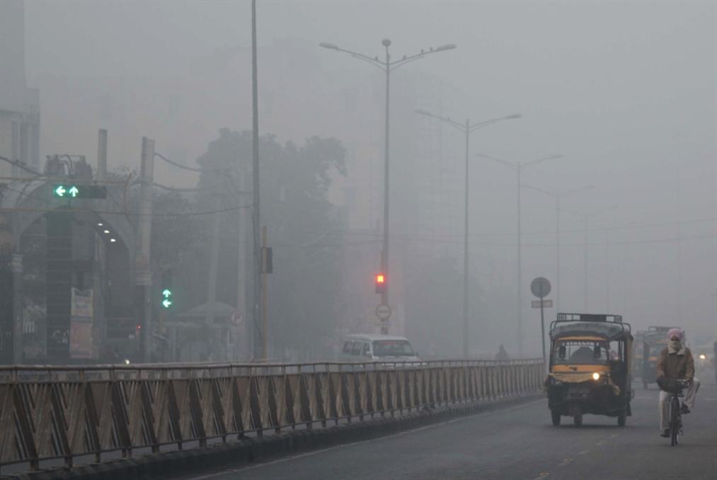 تلوّث الهواء أودى بحياة 1.24 مليون هندي