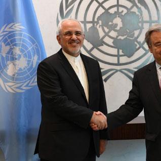 ظريف: ننسحب من الاتفاق النووي إذا استمرّت    الانتهاكات الأميركية