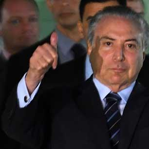 «عصابات» الفساد تخطف البرلمان منع محاكمة ميشال تامر... مجدداً