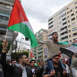 تظاهرات لبنانية فلسطينية وجلسة لمجلس النواب اليوم برّي: الحل في المقاومة المسلحة