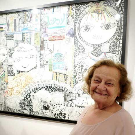 لور غريب... أحلام طفلة شقية عمرها 86 عاماً