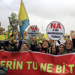 مشروع الفيدرالية الكردية في سورية