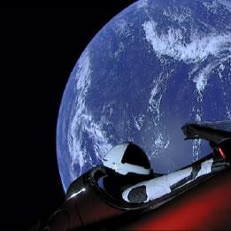 Falcon Heavy في الفضاء:  «تباً، ذلك الشيء قد حلّق فعلاً»!