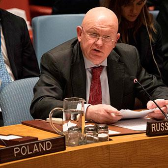روسيا تسقط المشروع البريطاني:   لا لاتهام إيران