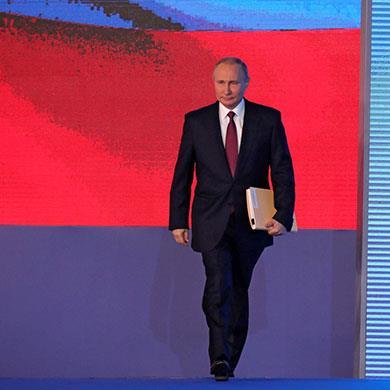 بوتين يرسم ملامح «روسيا المستقبل»