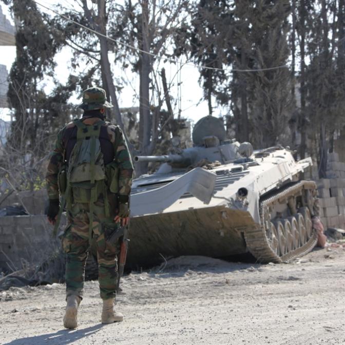 اشتباكات مع «داعش» بعد تسوية «القدم»
