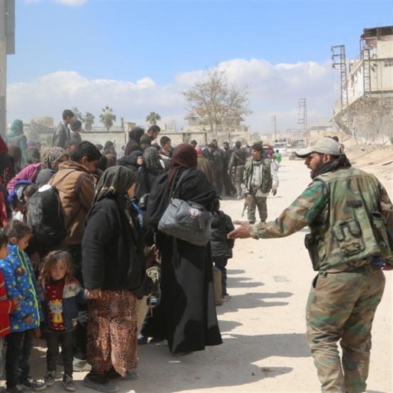 توقُّع خروج 20 ألف مدني من الغوطة اليوم