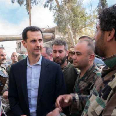 الأسد في الغوطة: «أنتم تغيّرون ميزان العالم»!