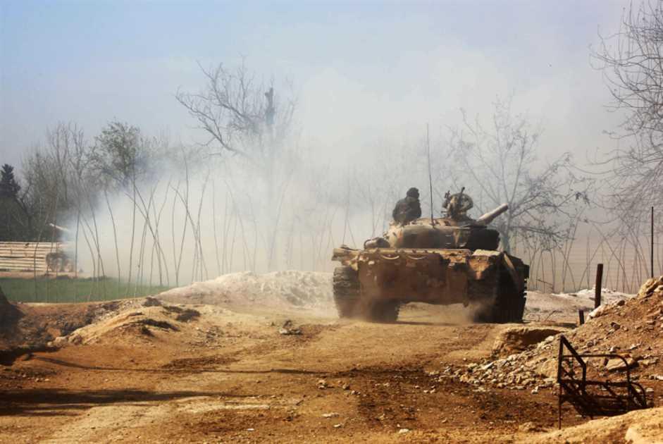 الجيش يتقدم في وادي عين ترما