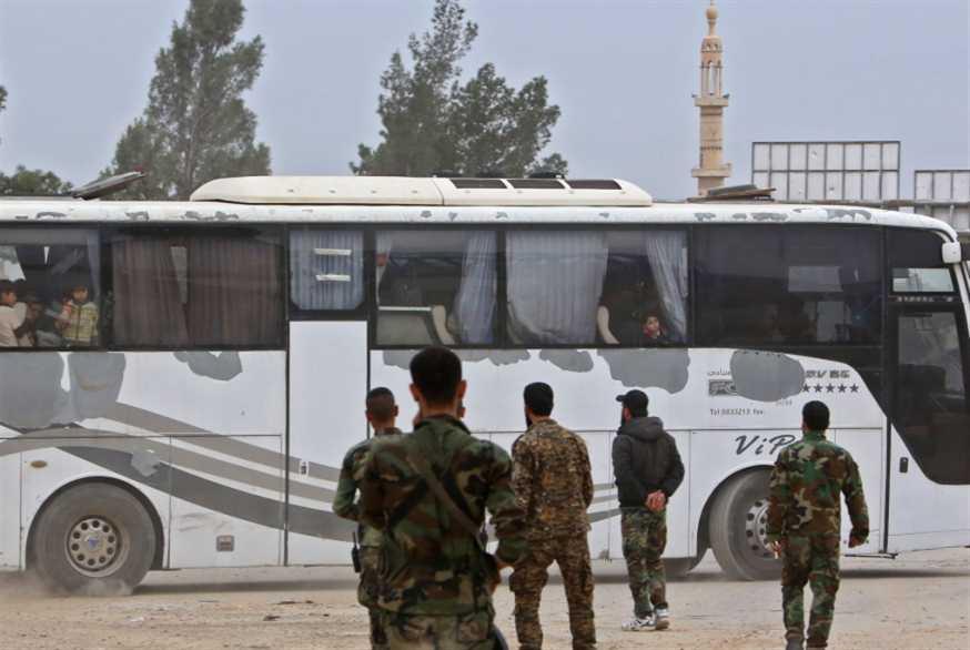 حرستا: مقبرة القناصين خارج الخرائط العسكرية