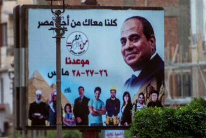 السيسي في سيناء: من قال انتخابات؟