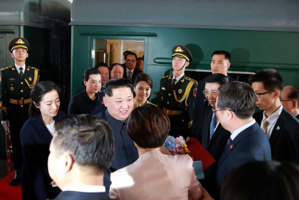 كيم في الصين: «قطار الشرق السريع» ينطلق