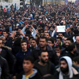 أمن غزة يقمع «مظاهرات الكهرباء» بالقوة