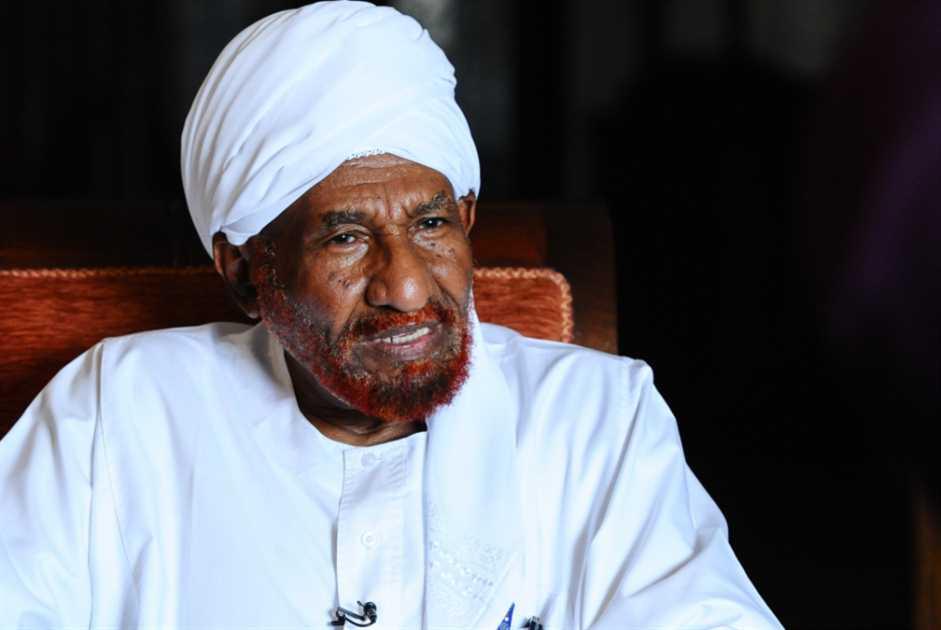 الصادق المهدي: «الإخوان» أضرّوا بالاسلاميين