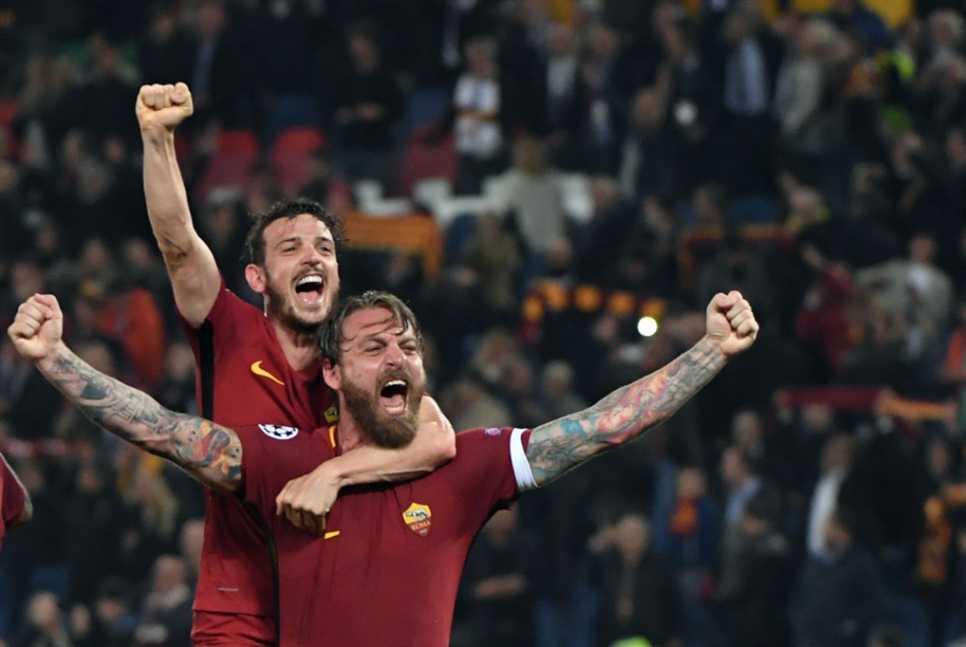 روما يرفع رأس إيطاليا