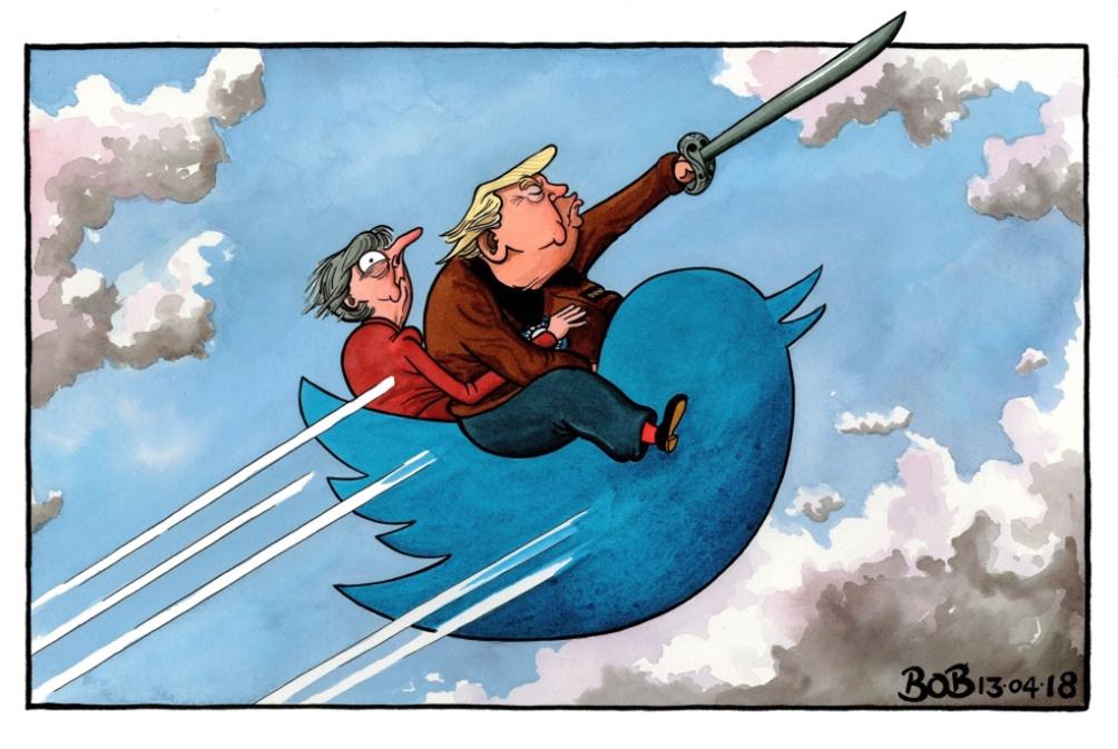 «استراتيجية» ترامب: التغريد أوّلاً!