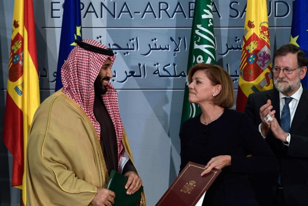 أكثر من مليارَي دولار «حصّة» إسبانيا من ابن سلمان