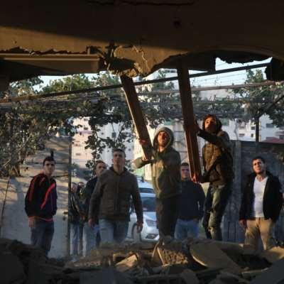 جنين: تفجير منزل الأسير أحمد قمبع