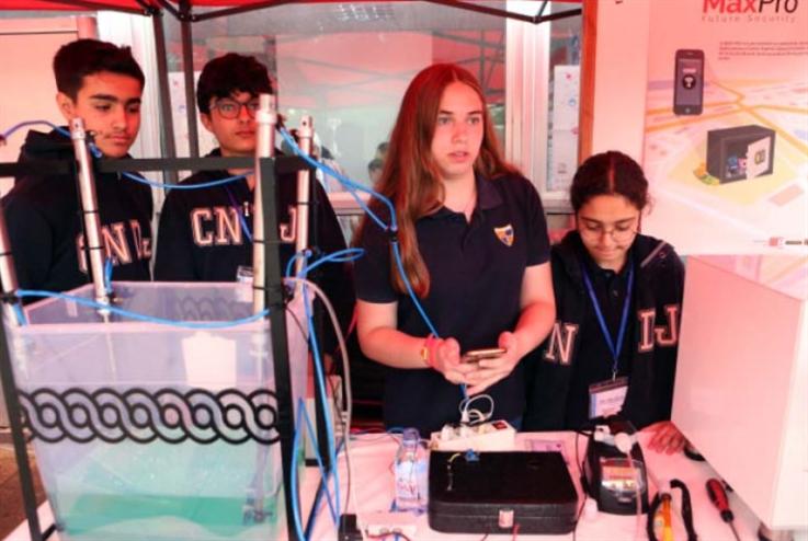 مباراة العلوم: مخترعون صغار يحرّرون خيالهم