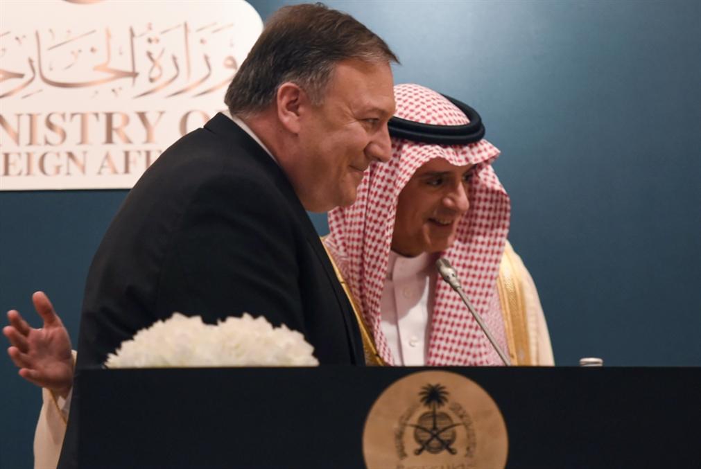 بومبيو يبلغ السعوديين رسالة ترامب: الإنفاق ثم الإنفاق