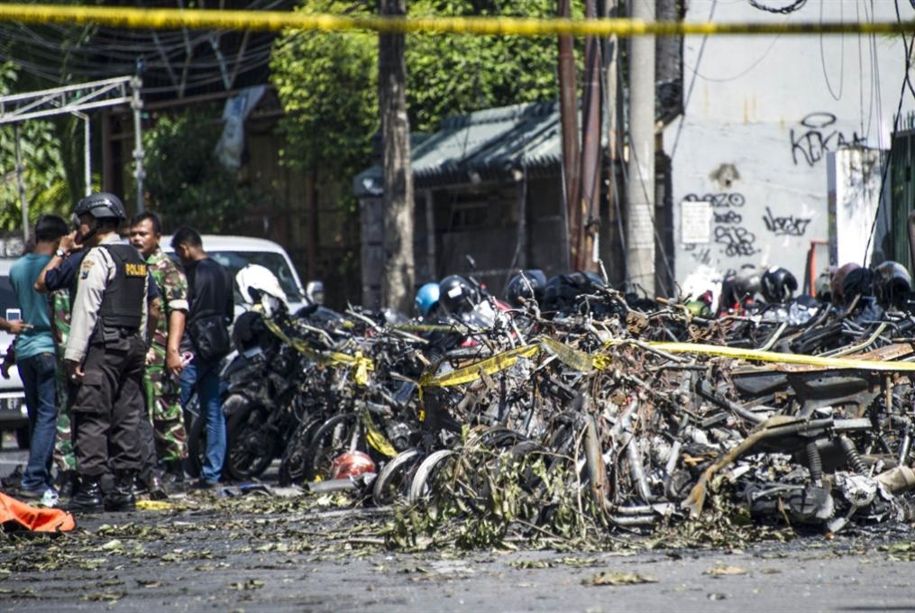 عائلة من ستة أفراد نفّذت هجمات الكنائس