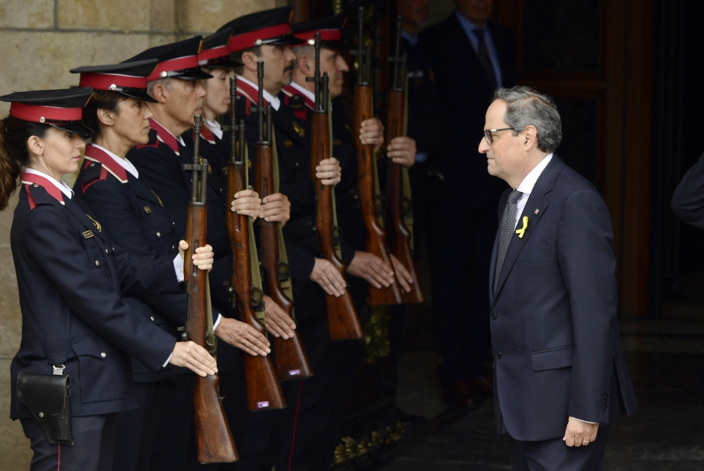 كتالونيا ترفع وصاية مدريد: رئيس «انفصالي» للإقليم