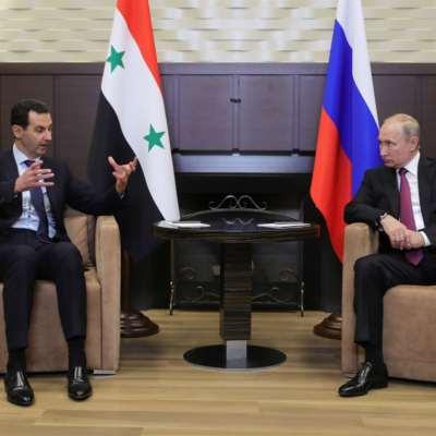 الأسد في روسيا ــ 3: إلى التسوية عبر «تعديل الدستور»