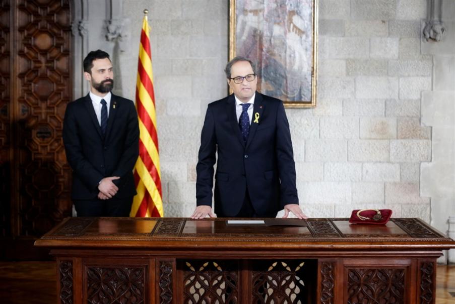 رئيس كاتالونيا الجديد: لا «يُقسم» بالدستور