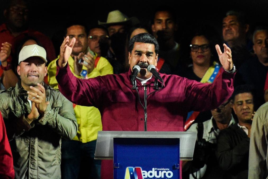 مادورو يفوز بولاية رئاسية ثانية