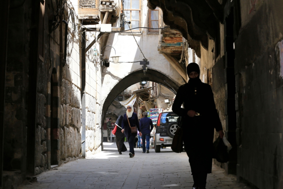 الحرب تغادر دمشق