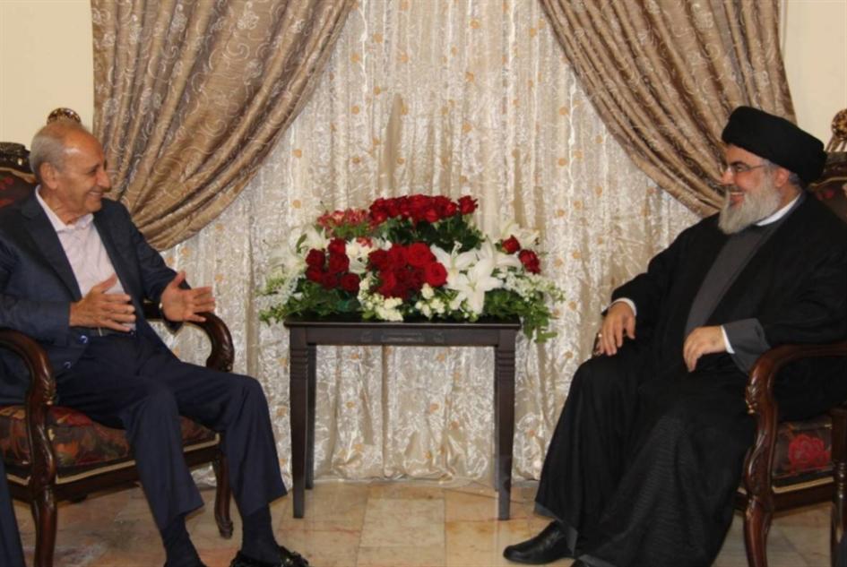بري ونصرالله: النسبية إلى الحكومة