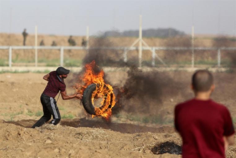 «مسيرات العودة» تأكل حصاد مستوطني «غلاف غزة»