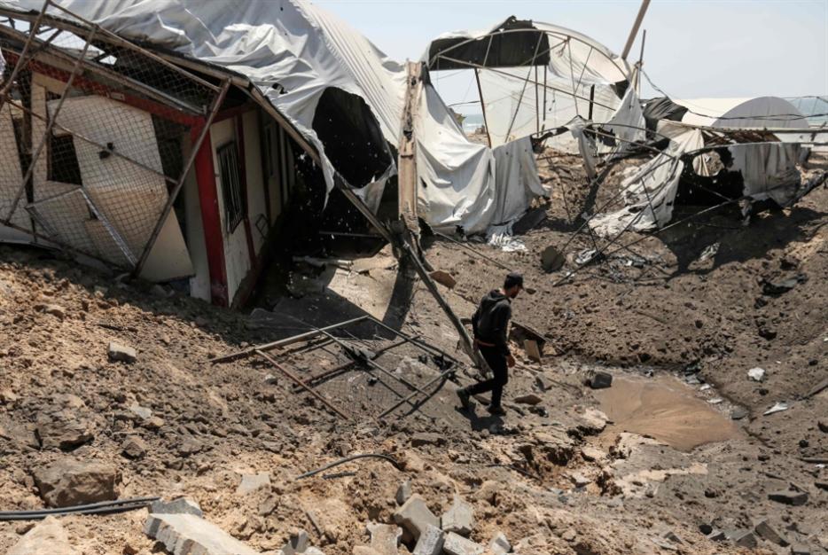 جسدُ المسيح المرفوع في غزّة