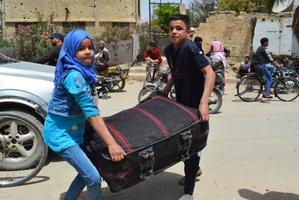 ملف جنوب دمشق إلى خواتيمه... بالنار والتسويات