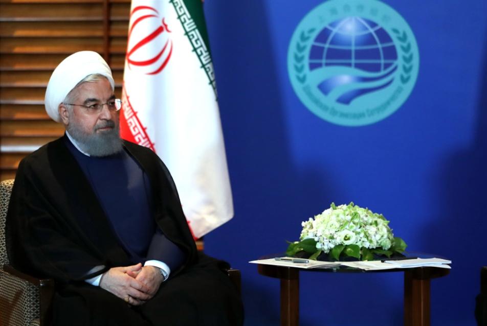 روحاني: «التعاون الاستراتيجي» مع الصين إلى توسّع