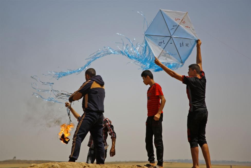 طائرات غزة الورقية... تهزم جبروت الاحتلال