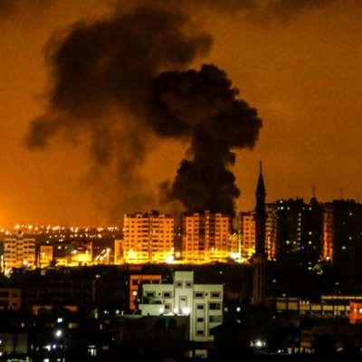 الاحتلال يقصف مواقع للمقاومة والأخيرة ترد