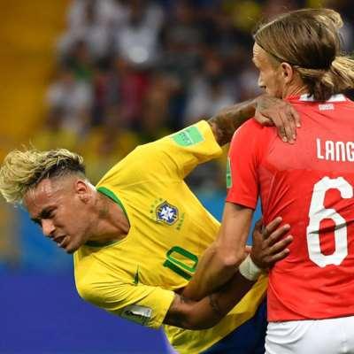 البرازيل وسويسرا: 7 أرقام