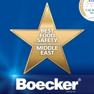 «بويكر» ... أفضل مدرب لسلامة الغذاء