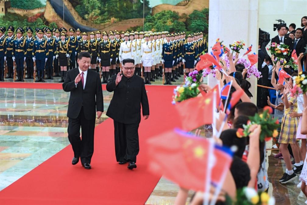 كيم في الصين للمرة الثالثة... وواشنطن وسيول تعلقان التدريبات العسكرية