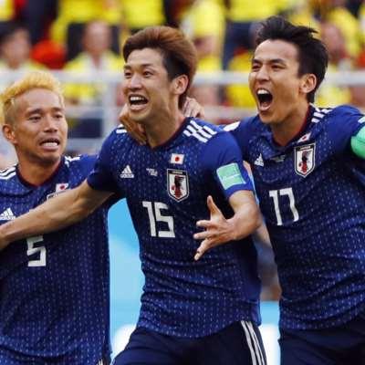 اليابان x كولومبيا: 9 أرقام