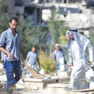 «مقبرة اليرموك»: رحلة «لمّ الشمل» بين الأحياء والأموات