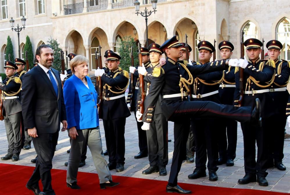 ميركل: عودة النازحين بالتنسيق مع الأمم المتحدة