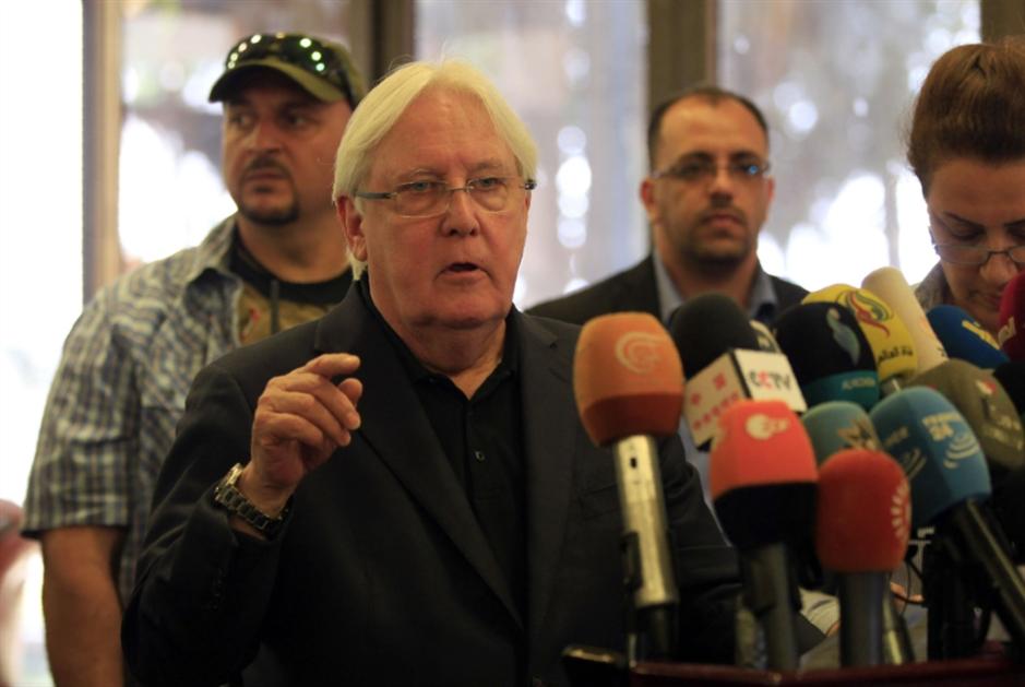 غريفيث يغادر صنعاء: لا تنازلات بشأن الحُديدة