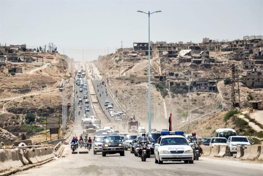 افتتاح طريق حمص ــ حماة الدولي